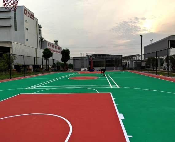 武漢丙烯酸籃球場