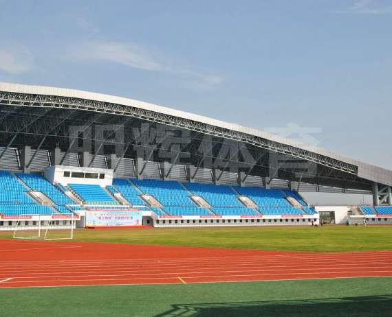 黃岡五運會蘄春縣奧體中心體育館塑膠跑道